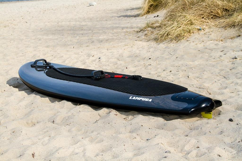 Surfboards mit Jetantrieb